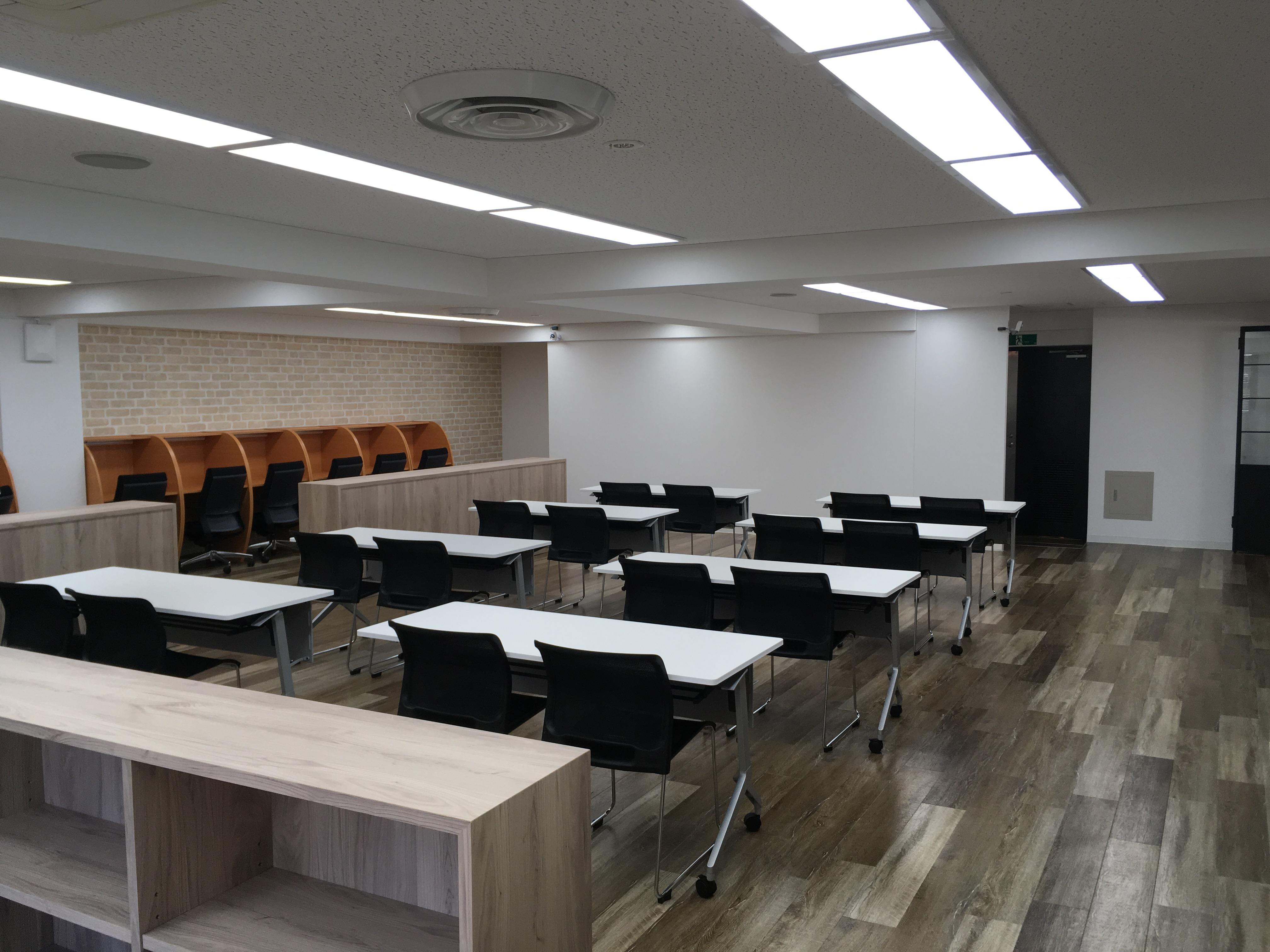 会議室っぽい場所も